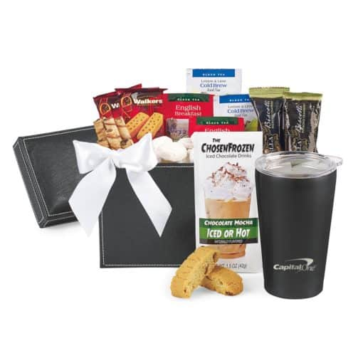 Executive Gourmet Keepsake Box & Aviana™ Gift Set Black