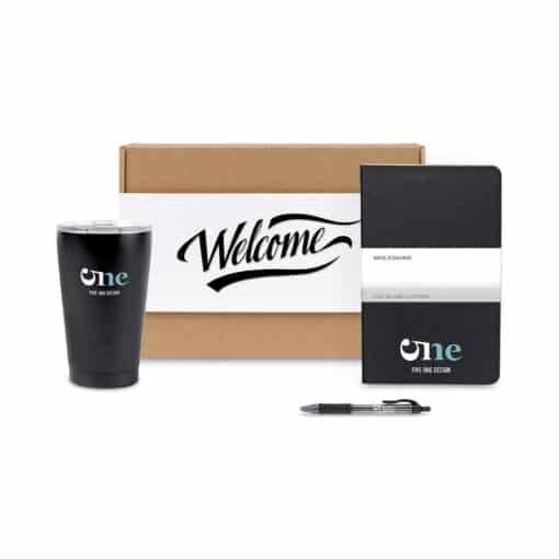 Warm Welcome Gift Set - Black